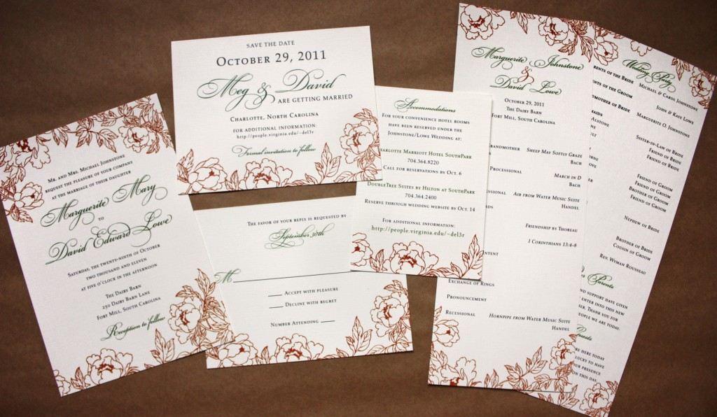Design Your Own Wedding Invite: Foxy-wedding-invitation-stationery-to-create-your-own